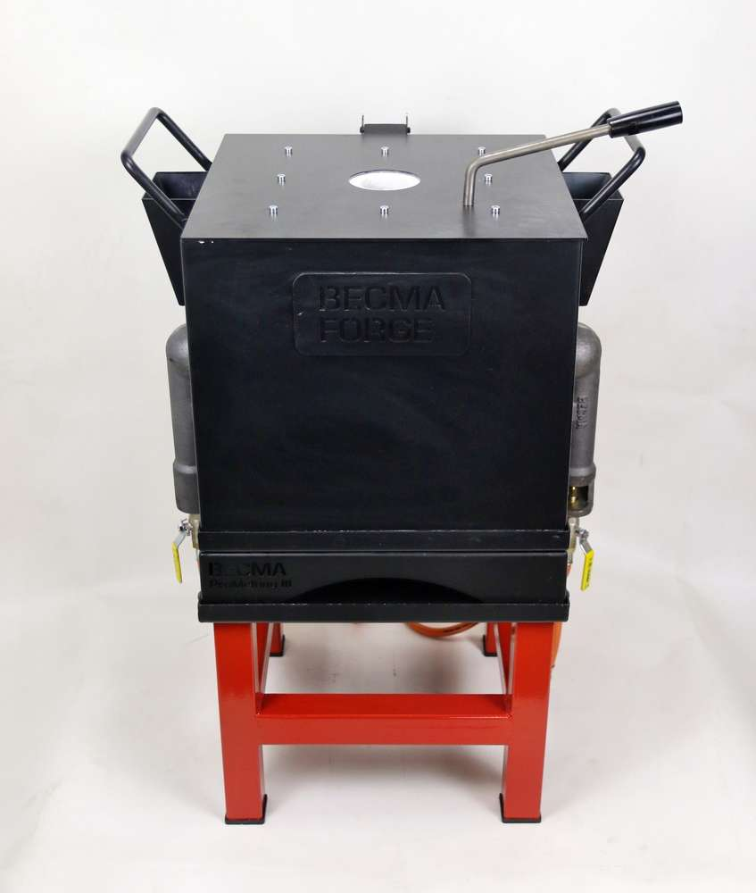 BECMA Gas Melting Forge / Furnace for Bronze, Brass, Silver